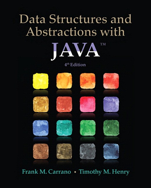 Data Structures and Abstractions with Java, 4th Edition