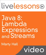 Java 8: Lambda Expressions and Streams LiveLessons (Video Training)