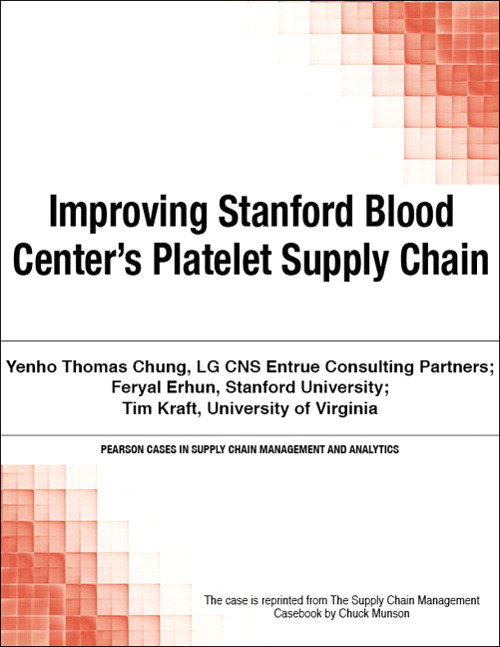 Improving Stanford Blood Center's Platelet Supply Chain
