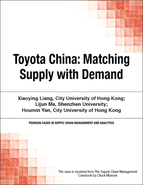 Toyota China: Matching Supply with Demand
