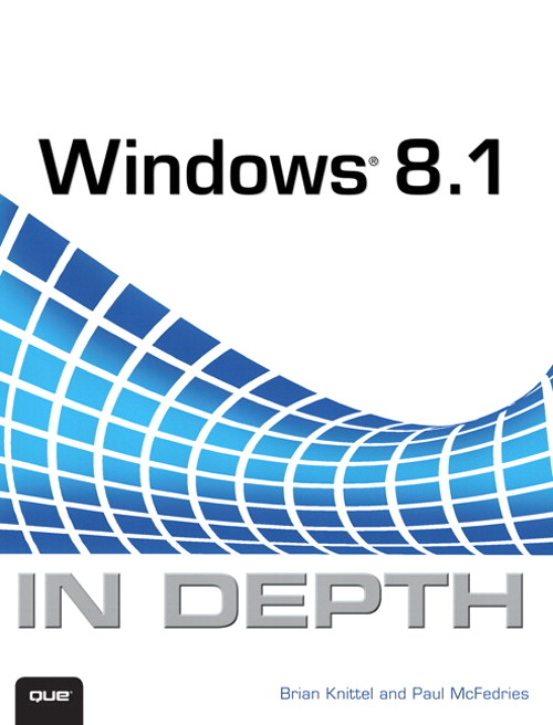 Windows 8.1 In Depth