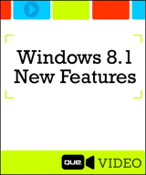 Windows 8.1 New Features (Que Video)