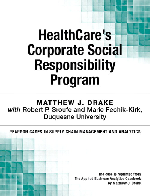 HealthCare's Corporate Social Responsibility Program