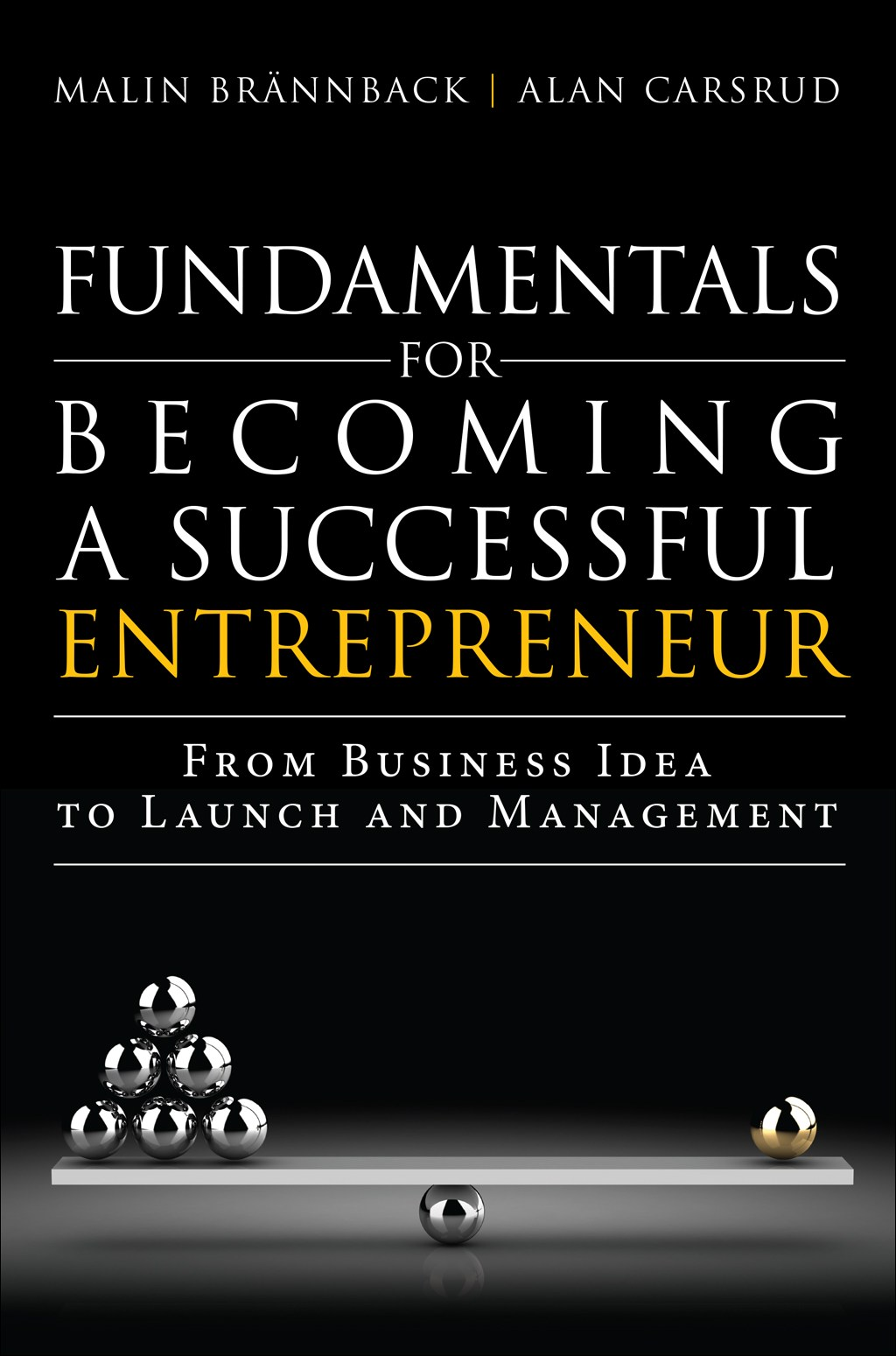 Fundamentals for Becoming a Successful Entrepreneur: From Business Idea to Launch and Management