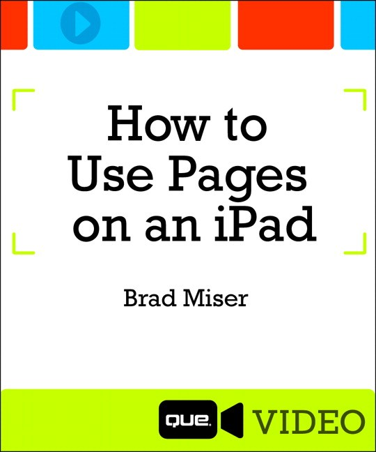 Part 2: Creating and Managing Pages Documents