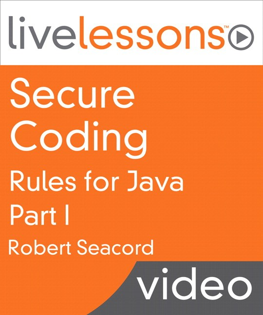Secure Coding Rules for Java LiveLessons: Part I