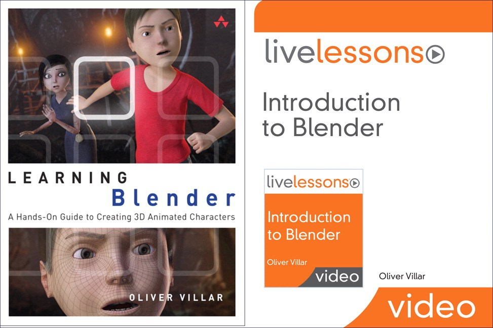Learning Blender (Book) and Introduction to Blender LiveLessons (Video Training) Bundle