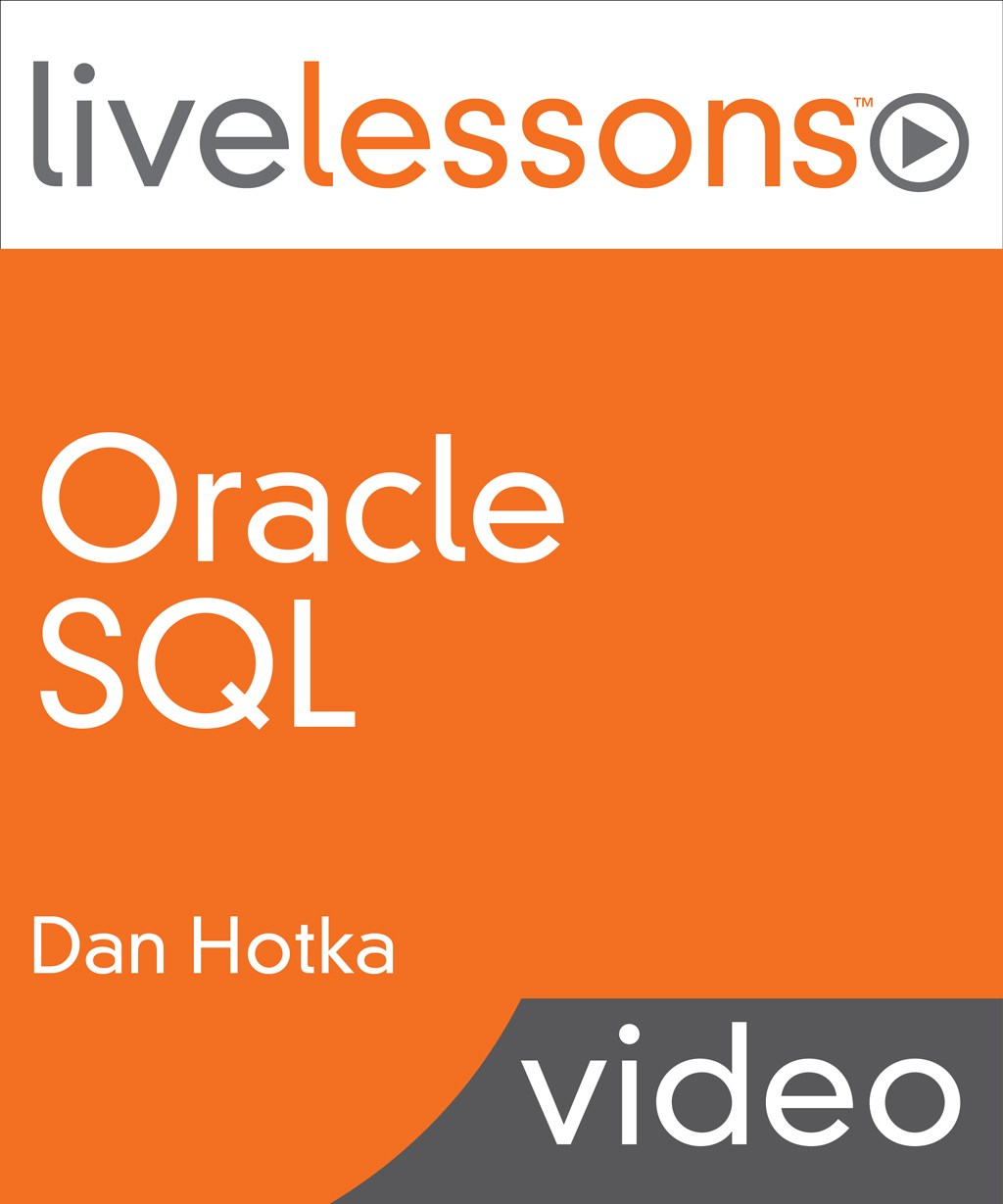 Oracle SQL LiveLessons