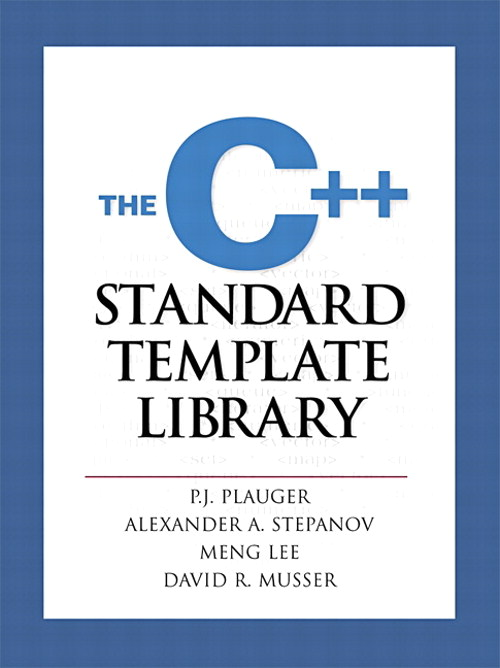 C++ Standard Template Library, The