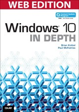 Windows 10 In Depth (Web Edition and Content Update Program)