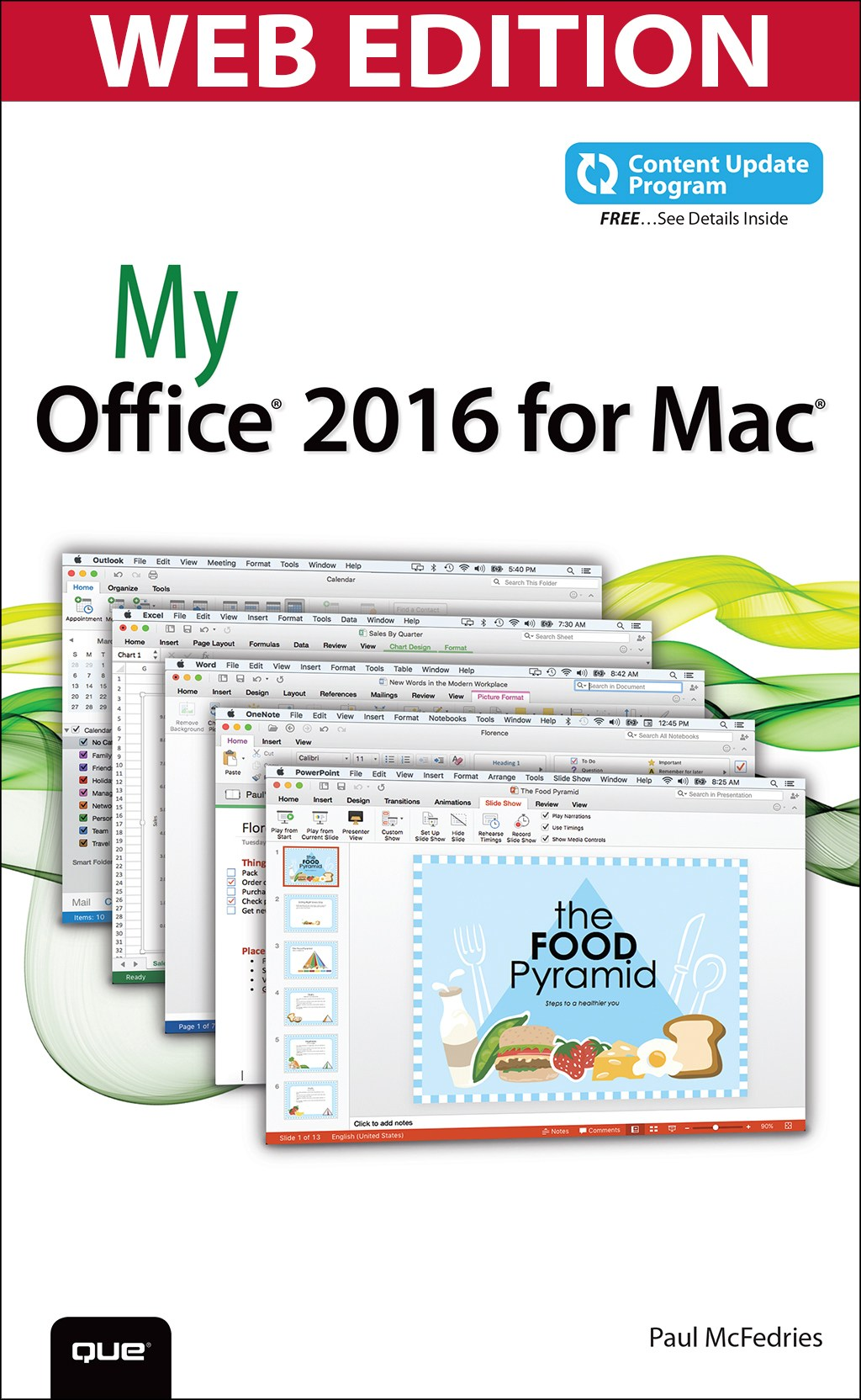 My Office 2016 for Mac, (Web Edition and Content Update Program)
