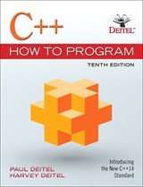 C++ How to Program Plus MyLab Programming with Pearson eText -- Access Card Package, 10th Edition