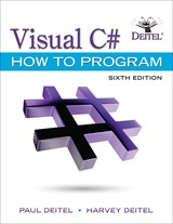 Visual C# How to Program, 6th Edition