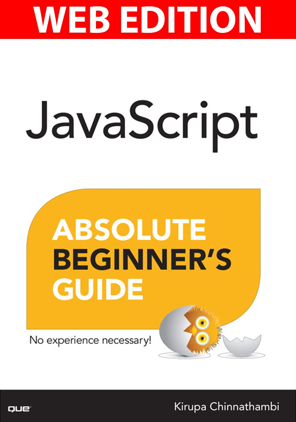 JavaScript Absolute Beginner's Guide, Web Edition