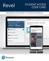 Revel for Introduction to C++ Programming and Data Structures -- Access Card, 4th Edition
