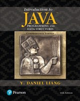 Introduction to Java Programming and Data Structures, Comprehensive Version Plus MyLab Programming with Pearson eText -- Access Card Package, 11th Edition