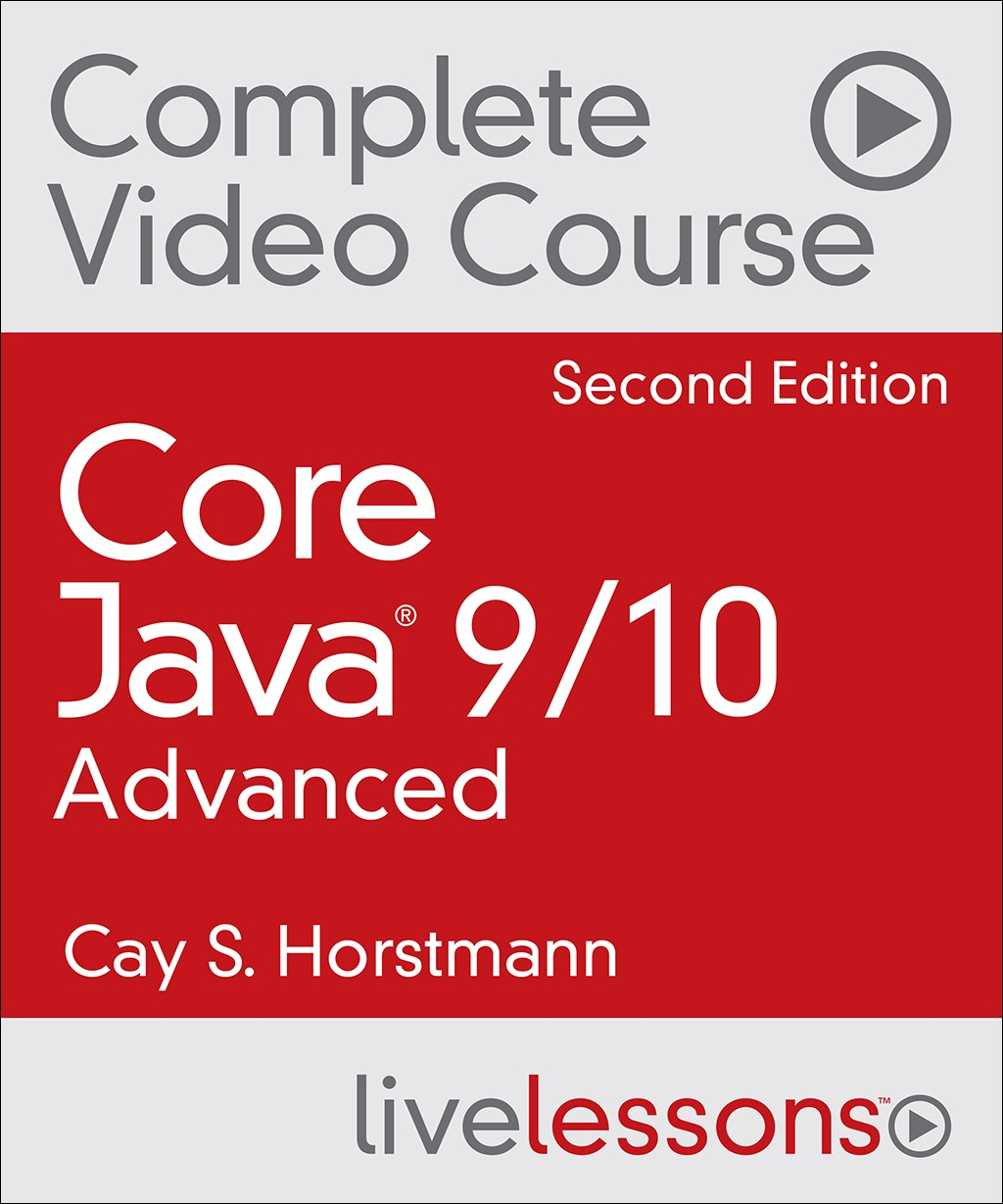 Core Java 9: Advanced Complete Video Course (Video Training), 2nd Edition