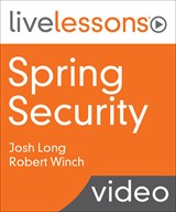 Spring Security LiveLessons (Video Training) | InformIT