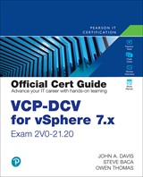 VCP-DCV for vSphere 7.x (Exam 2V0-21.20) Official Cert Guide, 4th Edition