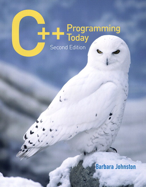 C++ Programming Today, 2nd Edition