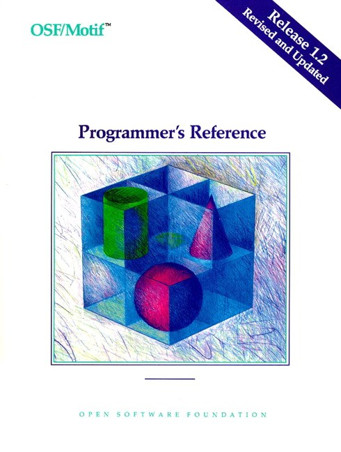 OSF/MOTIF Programmer's Reference Release 1.2