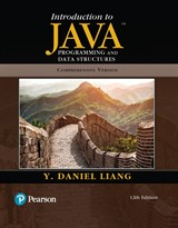 Introduction to Java Programming and Data Structures, Comprehensive Version Plus MyLab Programming with Pearson eText -- Access Card Package, 12th Edition