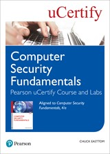 Computer Security Fundamentals Pearson uCertify Course and Labs Access Code Card