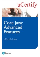 Core Java: Advanced Features uCertify Labs Access Code Card
