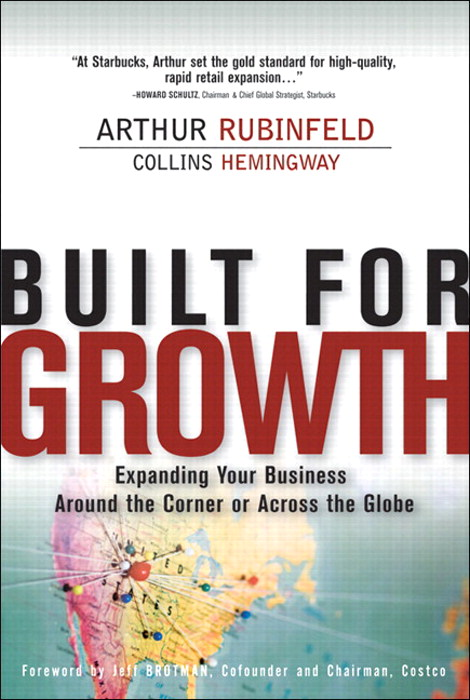 Built for Growth: Expanding Your Business Around the Corner or Across the Globe (paperback)