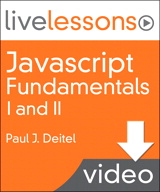 Javascript Fundamentals I and II LiveLessons (Video Training): Part I Lesson 1: Introduction to XHTML (Downloadable Version)