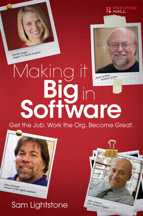Making it Big in Software: Get the Job. Work the Org. Become Great., Portable Documents