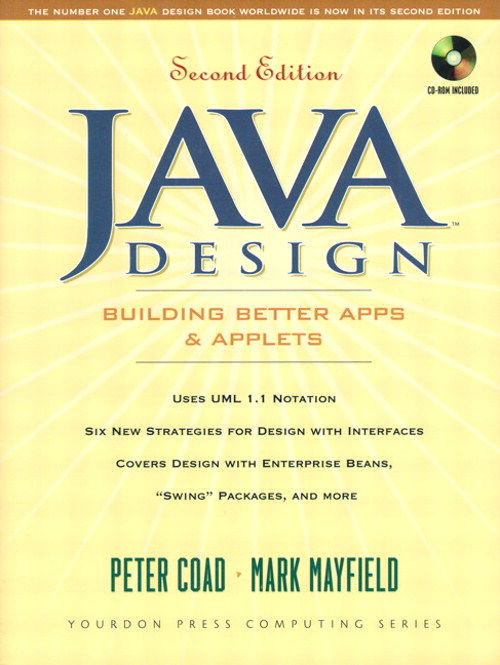 Java Design: Building Better Apps and Applets, 2nd Edition