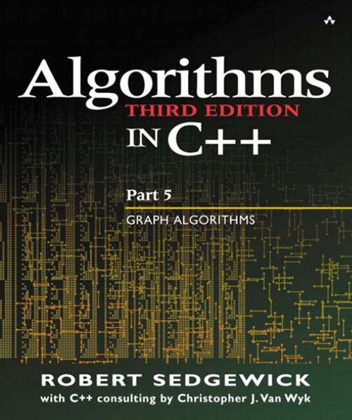 Algorithms in C++ Part 5: Graph Algorithms, 3rd Edition