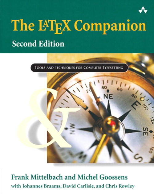 LaTeX Companion, The, 2nd Edition