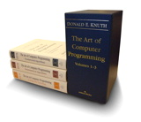 Art of Computer Programming, The, Volumes 1-3 Boxed Set, 3rd Edition