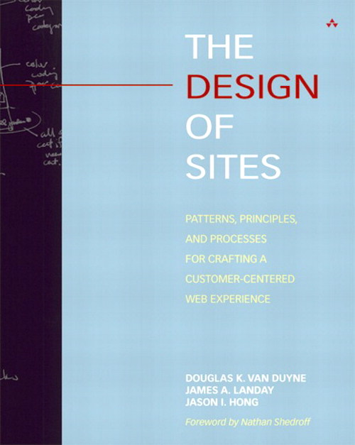 Design of Sites, The: Patterns, Principles, and Processes for Crafting a Customer-Centered Web Experience