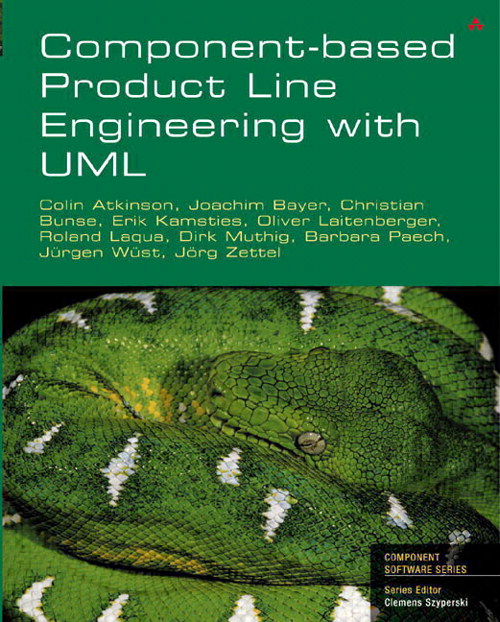 Component-based product line engineering with UML