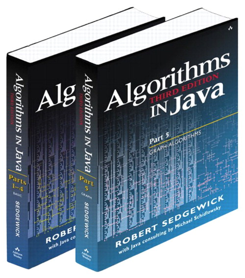 Bundle of Algorithms in Java, Third Edition, Parts 1-5: Fundamentals, Data Structures, Sorting, Searching, and Graph Algorithms, 3rd Edition