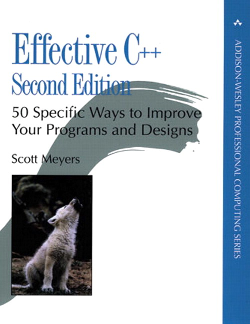 Effective C++: 50 Specific Ways to Improve Your Programs and Design, 2nd Edition