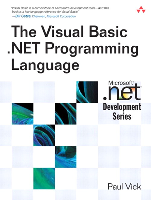 Visual Basic .NET Programming Language, The