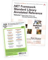 Online Bundle of .NET Framework Standard Library Annotated Reference, Volume 1 and .NET Class Libraries Reference Poster