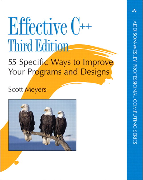 Effective C++: 55 Specific Ways to Improve Your Programs and Designs, 3rd Edition