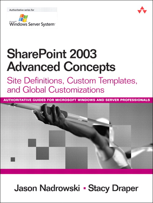 SharePoint 2003 Advanced Concepts: Site Definitions, Custom Templates, and Global Customizations
