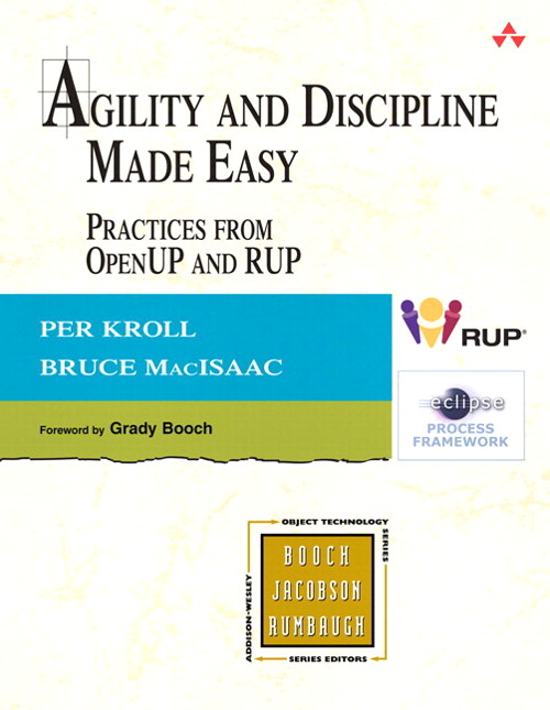 Agility and Discipline Made Easy: Practices from OpenUP and RUP