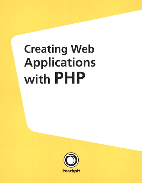 Creating Web Applications with PHP