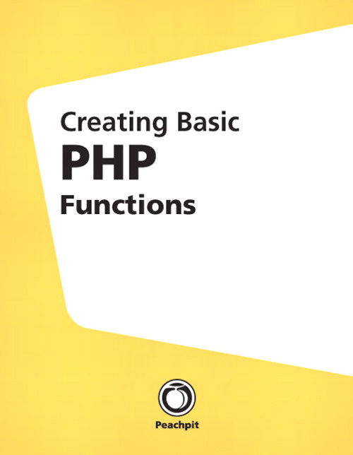 Creating Basic PHP Functions