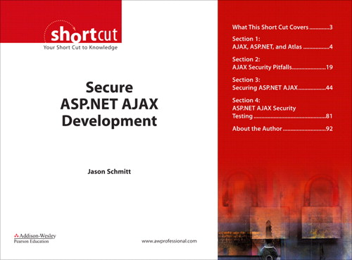 Secure ASP.NET AJAX Development (Digital Short Cut)
