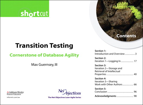 Transition Testing: Cornerstone of Database Agility (Short Cut)
