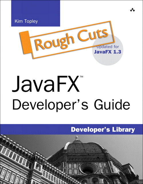 JavaFX Developer's Guide, Rough Cuts