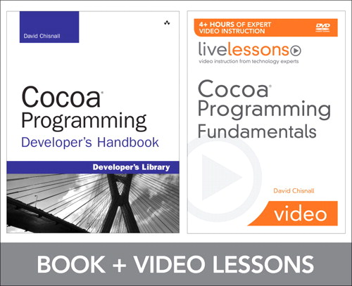 Cocoa Programming Fundamentals LiveLessons Bundle